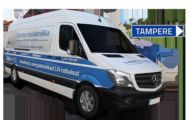 Ilmanvaihtokanavien puhdistus Tampere